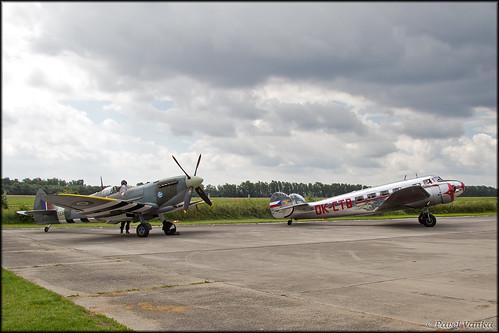 Spitfire + L-10 Electra