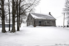 A vestige of the past (MarieFrance Boisvert) Tags: vestige winter hiver 2015 past remain maisonqubecoise house history ancient qubec canada