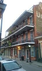 (sftrajan) Tags: balconies castiron dumainestreet architecture neworleans frenchquarter uneedasign brick vieuxcarr oldcity