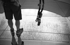 Riflessi (Valt3r Rav3ra - DEVOted!) Tags: lomo lomography lca lomolca streetphotography sovietcamera russiancamera riflessi bw biancoenero blackandwhite valt3r valterravera visioniurbane urbanvisions urss persone people reflections riflesso ilforddelta400 analogico film 35mm ilford