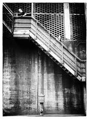 Stairs (WrldVoyagr) Tags: hochofen blastfurnace deutschland stairs photowalk border germany gx7 500px blackandwhite duisburg bw panasonic lumix landschaftsparknord nordrheinwestfalen de