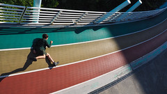 I am a runnerRainbow road () Tags: olympus penf chiayi taiwan  714mm f28 pro