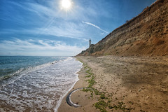 Bulgaria, Aheloy (bess_bg) Tags: bulgaria shore sand sea seascape seahorse lighthouse sun outdoor summer vacation relax landscape water blacksea aheloy scenery