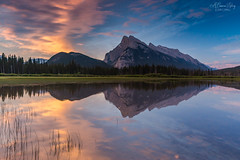 Rise of the Rundle (A Camera Story) Tags: sunrise vermillionlakes banffnationalpark canadianrockies rockymountains canada banff sonydslta99 sony1635mmf28