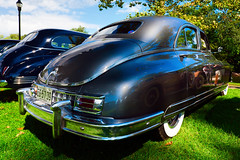 1948 Packard (hz536n/George Thomas) Tags: riversidepark orphanscarshow 2016 cs5 canon canon5d ef1740mmf4lusm michigan packard september summer ypsilanti carshow copyright