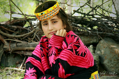 Kalasha (Iqbal Khatri) Tags: portrait girl dress valley tradition tribe khyber kalash kafir iqbal kalasha chitral khatri kafiristan kalashvalley pakhtoon bamborat bamboret bamburat khuwan