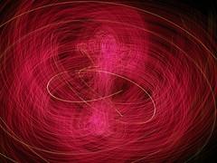 Pink toss (waruzm) Tags: christmas pink tree lights cameratoss icm intentionalcameramovement