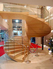 Seco Staircase (walterjackstudio) Tags: walter sculpture studio jack spiral twist stack staircase seco plywood