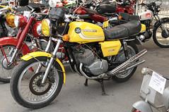Motobécane 350 (iveka19) Tags: france vintage exhibition collection moto motorcycle salon pantin 摩托车 brive motoconfort 2strokes bikesshow