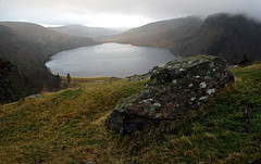 Lough Tay (Iestyn Roberts) Tags: ireland lough guinness tay wicklow lochtay wicklowmountains guinnesslake