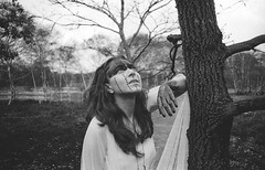 Breathe (Gabriele Negri PhotoArt) Tags: life white black tree nature woods earth magic swamp ritual concept conceptual priestess earthbound sorceress