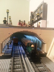 (brapps) Tags: london underground subway metro anniversary victorian 150 londonunderground met bakerstreet 1862 ube gwr broadgauge metropolitanrailway tube150