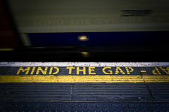 mind the gap (clavius_tma-1) Tags: uk london underground subway tube   simga sd15 1750mm barbicanstation