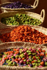 True Colours (Studio Yuki) Tags: travel kitchen colorful morocco spices baskets marrakech souk medina potpourri spicemarket