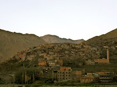 Arend village at dusk, High Atlas (fifimaree) Tags: mountain village morocco arend highatlas