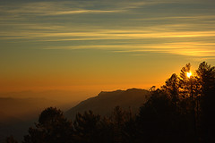 Sunset in Nathia Gali (Murtaza Mahmud) Tags: travel pakistan sunset mountains hiking