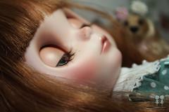 Sweet dream cute girl.