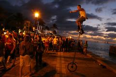 Mallory Square, Key West [Explore 12/27/12] (Joe Parks) Tags: street sunset west key florida dusk crowd performance explore unicycle keywest floridakeys streettheater twlight mallorysquare sunsetcelebration 24105l eos6d canon6d joeparks parksjd