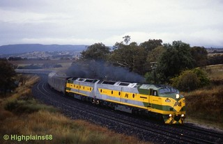 Indian Pacific dawn