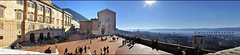 Passeggiando per Gubbio #1 (Celeste Messina) Tags: trip travel panorama mist art square relax nikon shadows view artistic ombre journey panoramica piazza gita perugia vacanza umbria excursion gubbio foschia piazzagrande d5000 eugubino donmatteo