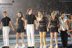 Adam Rippon, Alissa Czisny, Jeremy Abbott, Gracie Gold, Ashley Wagner, Danell Leyva and Gabrielle Douglas