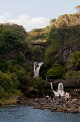O'he'o Gulch (Tim Conway) Tags: ocean road christmas winter vacation usa wet america island hawaii us nationalpark rainforest pacific united maui tourist east national hana hawaiian tropical winding states tropics roadtohana haleakalanationalpark palikea haleakalnationalpark kpahulu