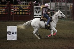 More shots from the rodeo (Tackshots) Tags: rodeo louisville cowgirl barrelrace