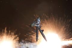 Under Attack (edhutschek) Tags: anime figure strike witches 18 explosions alter sanya mecha firecracker pvc scaled bfigure jfigure mechamusume mig60 litvyak sanyavlitvyak