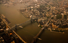 New York City (Surrealplaces) Tags: newyorkcity newyork aerial manhattanbridge eastriver brookylnbridge