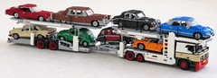 Mercedes Actros car transporter (3) (Mad physicist) Tags: truck mercedes lego metago cartransporter actros kassbohrer