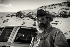 steve 21/100 (jk.photos) Tags: winter portrait people mountains cowboys rural blackwhite nikon trucks wyoming dirtroads jacksonhole cowboyhats d600 jacksonwy 100strangers nikon2470