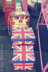 Union Boxes (Nick Walch - www.facebook.com/nickwalchphotography) Tags: street uk market sheffield boxes unionjack