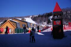 Mont Tremblant resort in winter, Quebec, Canada (lezumbalaberenjena) Tags: canada snowboarding skiing quebec skii resort snowboard tremblant mont