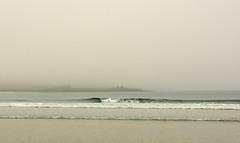Wave in the fog (supersky77) Tags: ocean sea mist fog scotland wave atlantic nebbia shetland mainland oceano atlantico onda marea ecosse scozia sumburgh