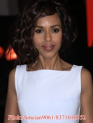 Kerry Washington (iron_smyth48) Tags: red portrait woman white celebrity film smile face female hair carpet star glamour eyes dress event actress premiere celeb