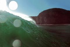 (RetroFox) Tags: ocean water vintage wasser europa waves break bokeh atlantic shore atlantik
