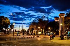 Malaga (Pietro Zuco) Tags: night spain europe malaga malaga201301