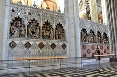 Amiens (Somme) - Cathdrale Notre-Dame - Clture septentrionale du choeur : scnes de vie de saint Jean-Baptiste dont le baptme du Christ (Morio60) Tags: unesco cathdrale 80 amiens picardie somme