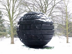 David Nash' Black Sphere (2004) (Charred_Oak), Snowy KEW Gardens @ 19 January 2013 (2/4) (Kam Hong Leung 13) Tags: park wood autumn winter summer sculpture snow plant black flower tree green london ice nature ecology grass kew fauna garden season insect spring oak flora education flickr royal conservation science bee greenhouse sphere stamen tropical environment botanic pollen botany wildflower horticulture glasshouse palmhouse biodiversity charred kewgarden londonpark botanist temperate stamina princessofwalesconservatory pollinator horticulturist davidnash waterlilyhouse kamhongleung leungkamhong yourkew naturalneighbourhood tempratehouse friendsofkew wilkamhongdlife