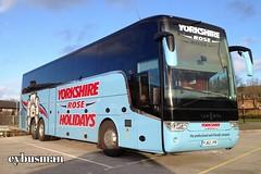 Yorkshire Rose Barnsley YJ62JYR. (EYBusman) Tags: road park new bus rose coach tx south yorkshire independent van brand coaches bridlington barnsley hool hilderthorpe eybusman trixale yj62jyr