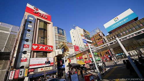 Nakano Broadway in the Winter