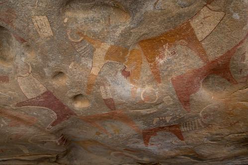 Cave paintings of Las Geel