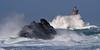 _4LN6521 : Le Four, le 6 Fevrier 2013 (2) (Brestitude) Tags: sea mer lighthouse four big brittany wave bretagne breizh vague phare finistère grosse argenton hudge porspoder chenaldufour nordfinistère paysdesabers brestitude petitmelgorn