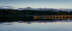 Lake Mahinapua morning reflection (lizcaldwell72) Tags: water lakemahinapua sky southisland newzealand reflection westcoast light