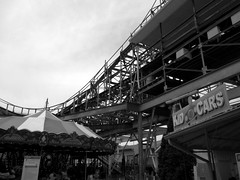Horse Around (BunnyHugger) Tags: indiana carousel amusementpark rollercoaster monticello indianabeach