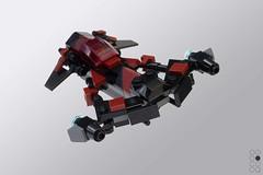 Eclipse (Cole Blaq) Tags: coleblaq starwars freemakeradventures scifi spaceship starfighter microscale