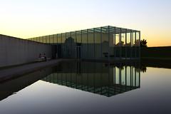 Hombroich (victorloe) Tags: hombroich architecture architektur deutschland germany dsseldorf sunset water sky