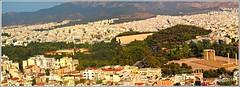 1608241_OLPD_Atenas, panoramica de ciudad con Zeus Olimpico y Arco de Adriano (S II) (jesssilgado) Tags: cities city ciudad grecia paisaje paisajes pueblo villages village landscape acropolis atenas