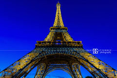 Eiffel Tower, Paris, France (davidgutierrez.co.uk) Tags: paris architecture art city photography davidgutierrezphotography nikond810 nikon urban travel people color londonphotographer photographer night france blue eiffeltower toureiffel     pars parigi bluehour twilight colors colours colour europe beautiful cityscape davidgutierrez capital structure ultrawideangle champdemars afsnikkor1424mmf28ged 1424mm d810 dusk street arts tower