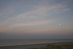 16081603 Newcastle (Philip D Ryan) Tags: ireland countywicklow newcastle newcastlebeach moon moonrise eveninglight sunset dusk irishsea